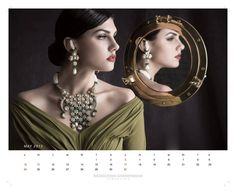 Plan it by having a look at the calendar designed #Birdhichand Ghanshyamdas Jewellers featuring the latest collection #Aks, that was bundled with #May 2015 edition #ELLE India !