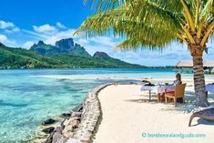 Tahiti Romantic Vacation Ideas: Sofitel Bora Bora Private Lunch #romanticvacationideas