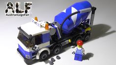 Lego City 7990 Cement Mixer / Betonmischer - Lego Speed Build Review