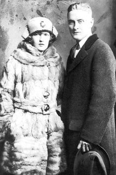 Zelda Fitzgerald & F Scott Fitzgerald