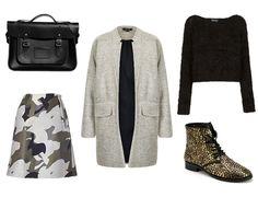 camo skirt, fall challeng, fashion week, fashion magazin, fall 2013