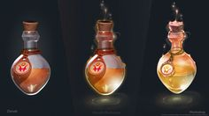 Magic bottles, anast...