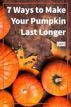 Follow these tips to make your pumpkin stay fresh and last longer this year.
