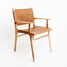 LUUMO DESIGN - FENWICK DINING CHAIR TAN, $500.00 (http://luumodesign.com/materials/leather/fenwick-dining-chair-tan/)