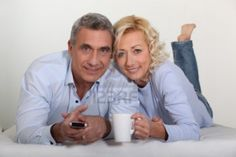 Photo idea for middle aged couple (but without the props)