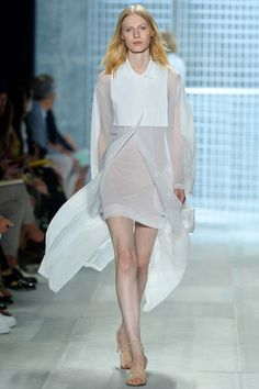 WUOH reminds me to alexander wang's collection Lacoste Spring 2014 Ready-to-Wear Collection Slideshow on Style.com