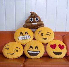 Emoji pillows :)