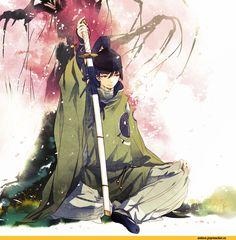 touken ranbu,Ishikirimaru,Anime Art,Аниме арт, Аниме-арт,Anime,аниме