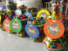 A Bunch of Bishops: M&M Themed Birthday
