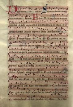 Moosburger Graduale um 1360 Moosburg Cim. 100 (= 2° Cod. ms. 156)  Folio 460
