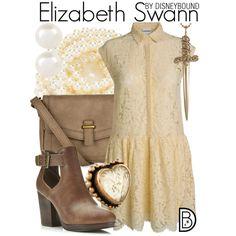 Disney Bound - Elizabeth Swan