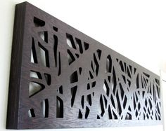 Modern Rustic Wall Art, Display Vertical or Horizontal - 6' plus Wide or Tall - King Size Headboard on Etsy, $943.50 CAD