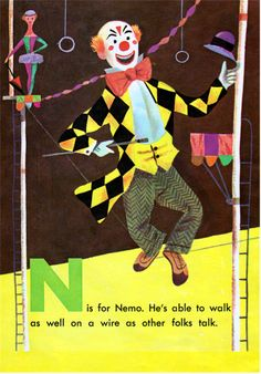 Circus ABCby Kathryn Jackson, illustrated by J.P. Miller (1954).