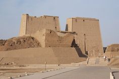 Temple to Horus at Edfu -  Our Egyptian adventure 2008