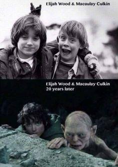 Elijah Wood and Macaulay Culkin - www.meme-lol.com