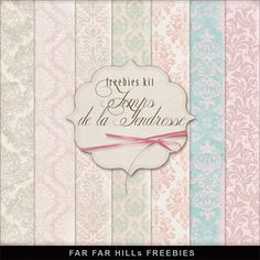New Freebies Paper Kit - Temps de la Tendresse