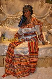 traditional kabyle dress - city-Bejaia /Algeria