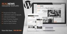 Download and review of Realnews - Stylish and Responsive Magazine Theme, one of the best Themeforest Magazine & Blogs themes {Download & review at|Review and download at} {|-> }http://best-wordpress-theme.net/realnews-stylish-responsive-magazine-download-review/