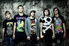 The Devil Wears Prada - Some truly funny characters, but they're a great headline for metalcore.