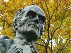 Statue of John Fielden, Centre Vale Park, Todmorden