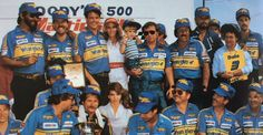 Martinsville Goodys 500, Dale Earnhardt in Victory Lane 1985