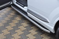 Praguri laterale Audi Q7, Side steps Audi Q7, tinted Audi Q7, White Audi SQ7 Q7, Custom Audi Q7, tuning Audi Q7 Audi Q7, 4x4, Vehicles, Style, Swag, Car, Outfits, Vehicle, Tools