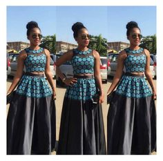 Wedding guests are making enviable entrances for the best tux and gowns moments in their stunning outfits. A wedding is about the bride and the groom getting married and sharing… African Women, African Fashion, Sotho Traditional Dresses, Elegant Style Women, African Wear Dresses, African Outfits, Shweshwe Dresses, Wedding Guest Style, Made Clothing