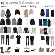 Capsule wardrobe year round
