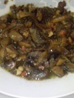 Champiñones con jamón Food, Essen, Meals, Yemek, Eten