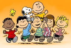 the peanuts gang. Will ALWAYS remind me of my sister!!!