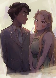 The way Marco looks at Star... Wow...