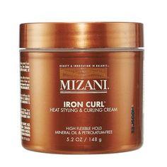 Mizani Iron Curl Heat Styling Cream