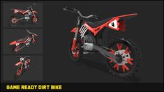 Dirt Bike Motocross 3d Land Unity Asset Store In 2020 Motocross Logo Design Vintage Retro Dirt Bike