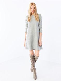 Sweterkowa sukienka, MOHITO