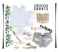 """*Summer Staple: Denim Cutoffs Contest*- Set#1"" by sassy-elisa ❤ liked on Polyvore featuring OneTeaspoon, Nicholas Kirkwood, Chanel, Chloé, Cartier and DENIMCUTOFFS"