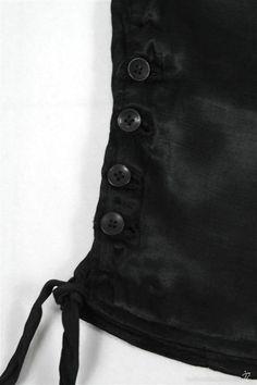 Antigüedades: Calzón de seda antiguo - Foto 2 - 58689076