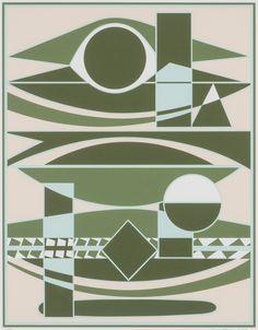 Sam Vanni, 1984, litografia, 67x52 cm, edition 57/75 - Hagelstam A148