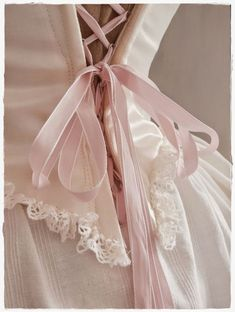 pink.quenalbertini: Pink corset | A Whisper of Roses