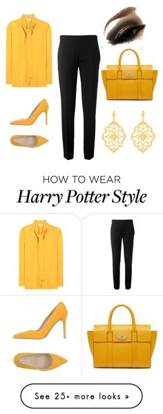 """Untitled #28"" by blackloveheart on Polyvore featuring Mulberry, Chloé, Edun, Orciani and Kabella Jewelry"