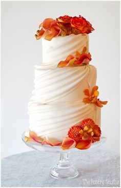 Featured cake: The Pastry Studio; http://www.modwedding.com/2014/10/30/36-head-turning-wedding-cakes-exquisite-design-details/ #wedding #weddings #wedding_cake cake: The Pastry Studio