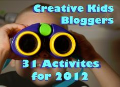 Great list of fun kids bloggers - lots of play activities