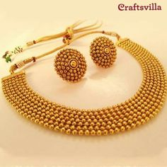 Gold Bangles Design, Gold Earrings Designs, Gold Jewellery Design, Necklace Designs, Gold Jewelry, Gold Necklace, Stylish Jewelry, Fashion Jewelry, Bridal Jewelry