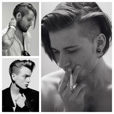 Top 5 Herren Frisuren für langes Haar, Skater Boy Look Frisuren für lange Haare , Lange Haare Undercut Hairstyles, Boy Hairstyles, Hair Undercut, Long Undercut Men, Damp Hair Styles, Short Hair Styles, Spring Hairstyles, Very Long Hair, Different Hairstyles