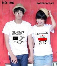 Áo đôi, áo cặp dễ thương http://aodoi.com.vn