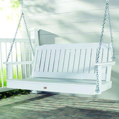 Wonderful front porch swing pics for your cozy home Porch Swing Home Depot, Porch Swings For Sale, Balcony Swing, Porch Swing Frame, Patio Swing, Swing Canopy Replacement, Outside Swing, Porch Glider, Garden Swings