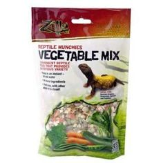 Zilla Reptile Munchies Vegetable Mix 4 oz.