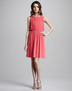 c5ce5d334b2 Alice + Olivia Meryl Pleated Dress - ShopStyle Day