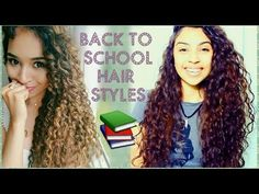 Five Days, Five Hairstyles | Collab with CURLY PENNY - YouTube