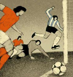 1978 World Cup Final art.