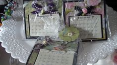 Calendar Post-It Note Holders  Easel Style